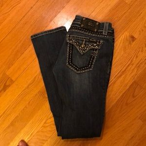 Miss Me Straight Leg Jeans Size 27